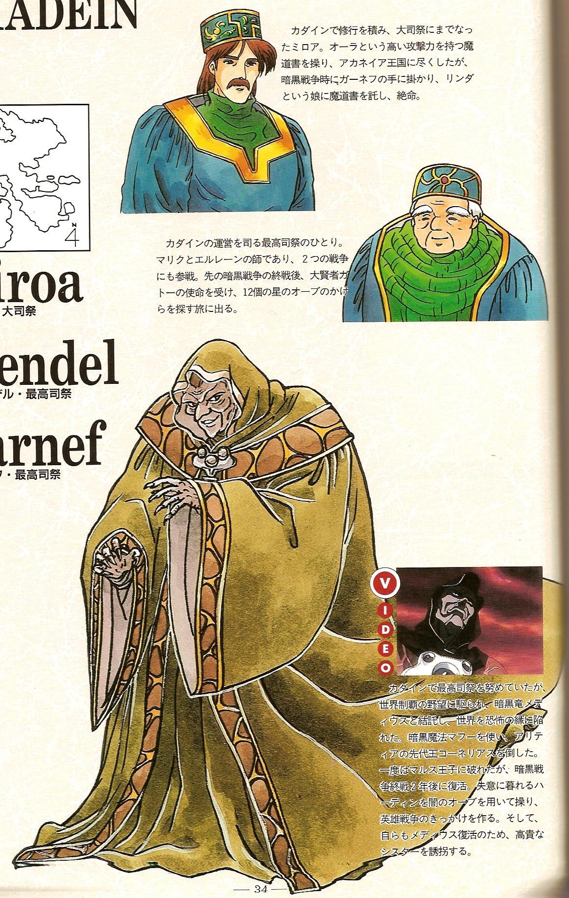 Miroa, Wendel, and Garnef