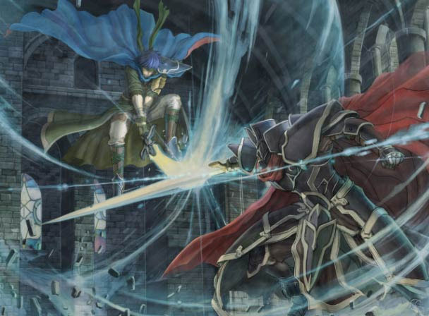 Ike vs. the Black Knight