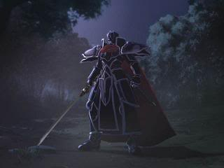 The enigmatic Black Knight.