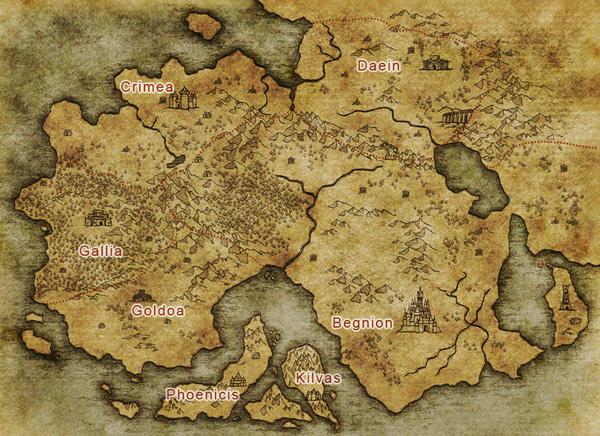 Enlarge map & display minor regions