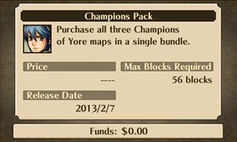 Champions Pack