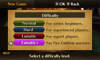 Lunatic+- Difficulty
