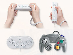 Radiant Dawn can be played with three different controllers.