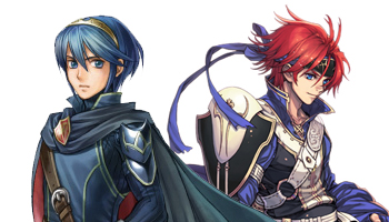 Marth and Roy in Awakening.