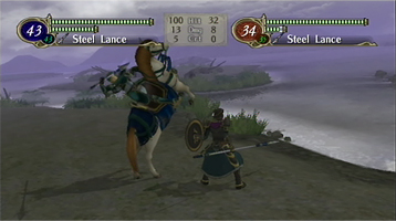 Radiant Dawn features smoother and more varied battle animations compared to the previous installment.