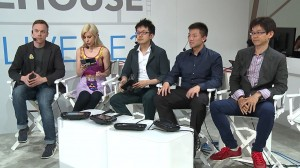 Our hosts are joined by IS's Yamagami and Yokota.