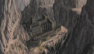 Kilvas is situated atop a lofty mountain peak.