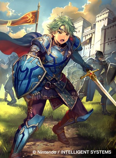 Alm Voice - Fire Emblem Heroes (Video Game)   Behind The