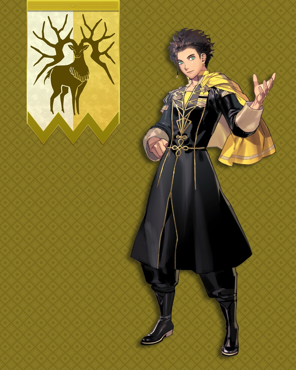 Three Houses Official Character Videos And Profiles Part 1