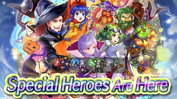 Feh Halloween 2020 Heroes: Halloween banner is live, and Harvest Festival Celebration