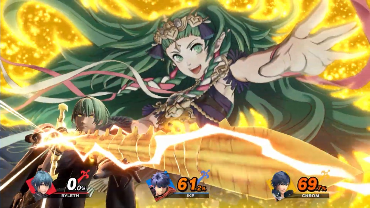 Byleth Super Smash Bros. Ultimate Release