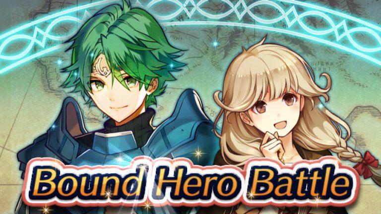 [Fire Emblem Heroes] Infernal Alm & Faye: Bound Hero