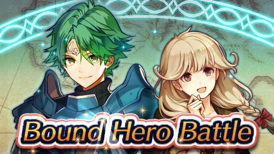 Fire Emblem Heroes hosting Alm and Faye Bound Hero Battle
