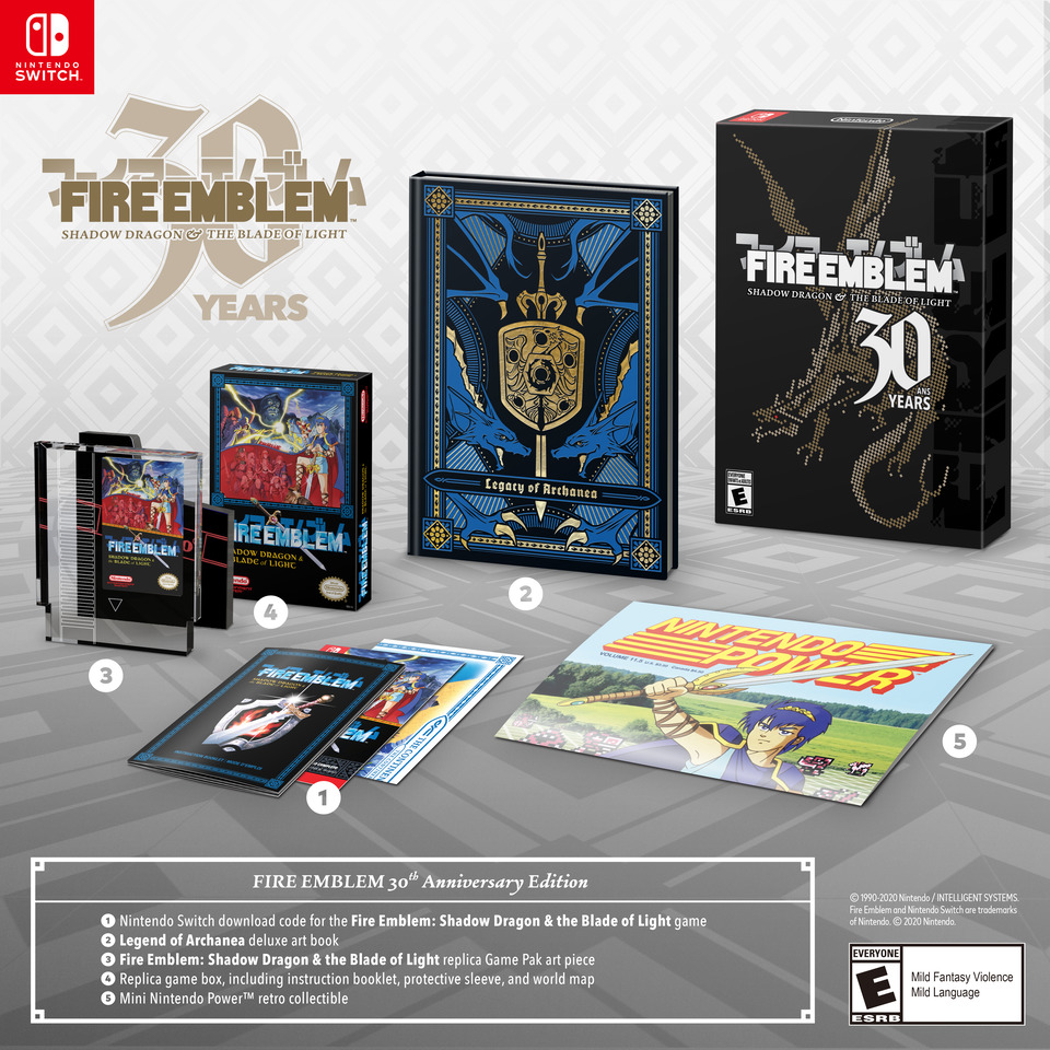 Fire Emblem: Shadow Dragon & the Blade of Light seeing fully localized  release with Anniversary Edition on December 4! - Serenes Forest